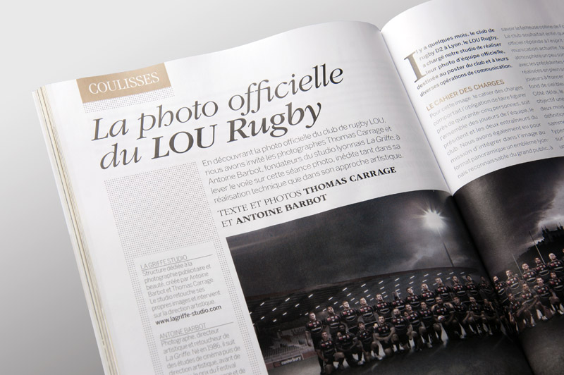 Competence Photo 32 Dossier La Griffe LOU Rugby making of